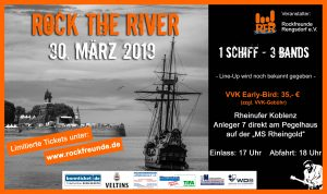 Banner Rock The River 2019